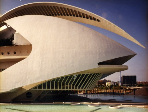 Image: Opera house in Valencia, Spain