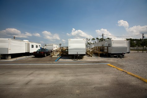Image: FEMA trailers in Bay St. Louis, Miss.