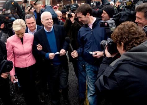 John McCain Campaigning in South Carolina