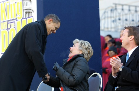 Image: Barack Obama, Hillary Clinton, John Edwards