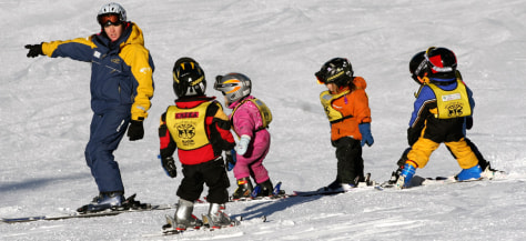 Image: Kids skiing at Whistler
