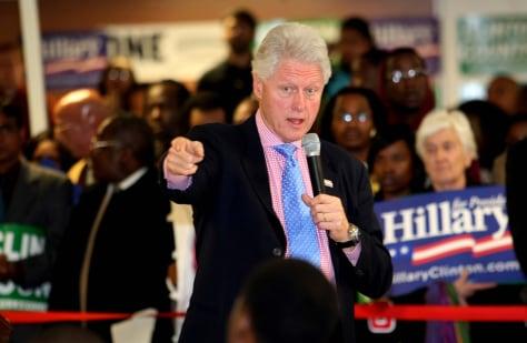 Image: Former President Bill Clinton
