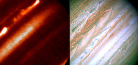 Image: Jupiter's jet streams