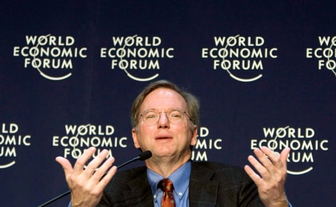 Image: Eric Schmidt, CEO of Google