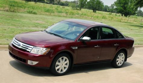 Image: 2008 Ford Taurus
