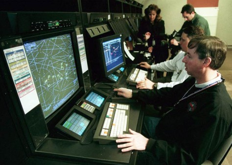 Image: Air traffic controllers