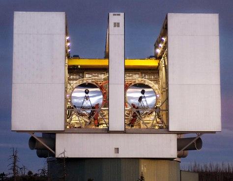 Image: Large Binocular Telescope Observatory