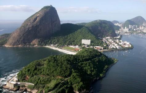 Image: Sugar Loft mountain in Rio de Janeiro.