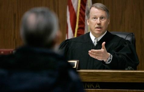Image: Judge Raymond Pianka