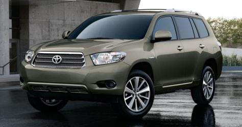 Image: Toyota's Highlander Hybrid