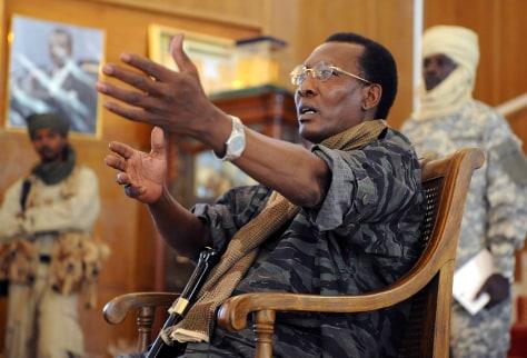 Image: Chadian President Idriss Deby