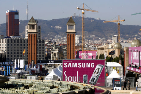 Image: Mobile World Congress in Barcelona