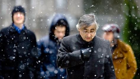 Image: A winter storm in Philadelphia