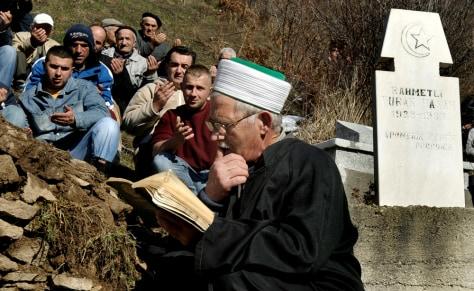 Image: Kosovo funeral