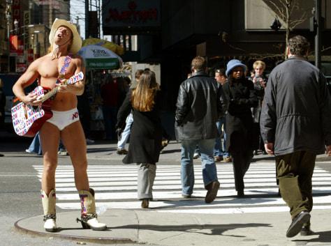 Image: Naked Cowboy