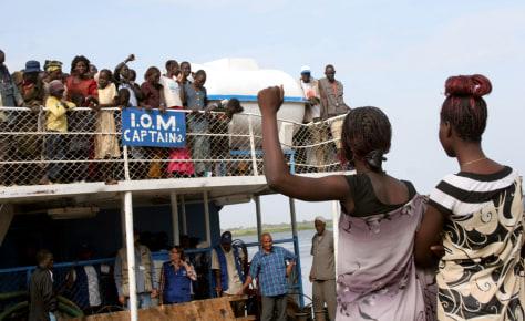Image: Sudan refugees return