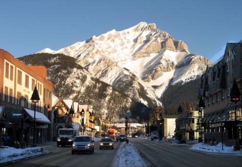 Image: Banff, Alberta, Canada