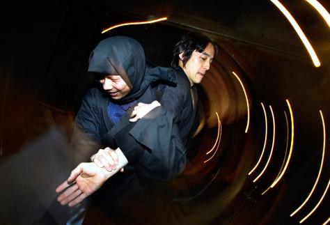 Image: Ninja hand-in-hand combat