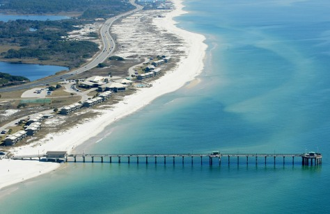 Image: An aerial view of the Gulf Shores State