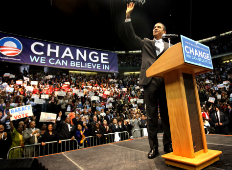 Obama Holds Campaign Rally In Dallas