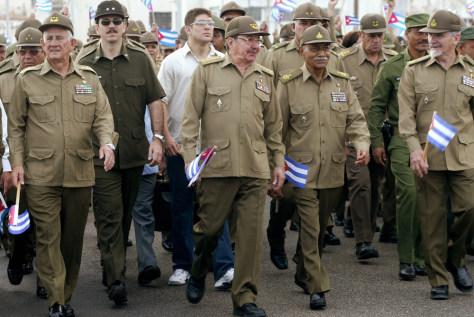 Image: Cuban leaders