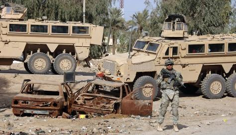 Image: Mine Resistant Ambush Protected vehicles