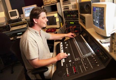 Image: Recording engineer