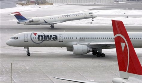 Image: Delta Air Lines and Northwest Airlines