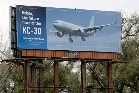 Image: A Northrop Grumman billboard