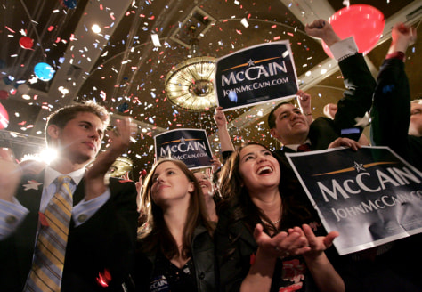 Image: John McCain supporters