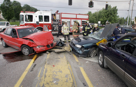 Image: Traffic accident.