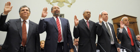 Image: CEOs take oath