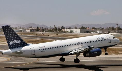 Image: JetBlue touchdown