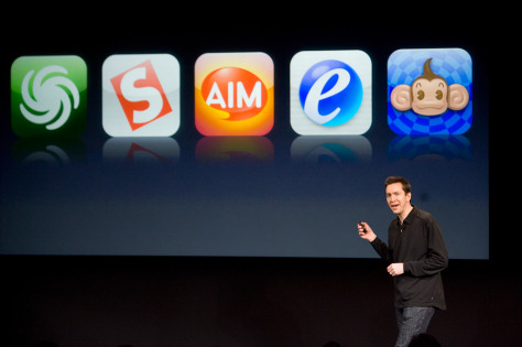 Image: Scott Forstall of Apple