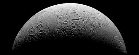 Image: Enceladus north polar region