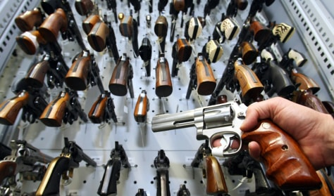 Image: Handguns.