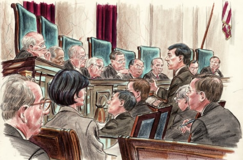 Image: Supreme Court hearing