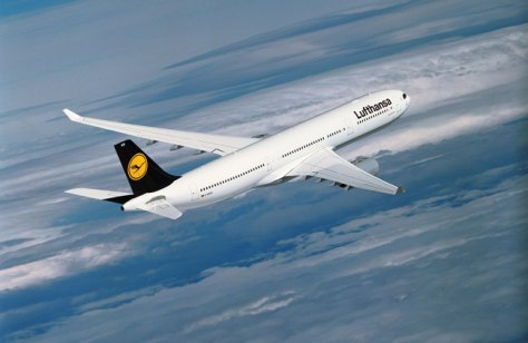 Image: Lufthansa plane