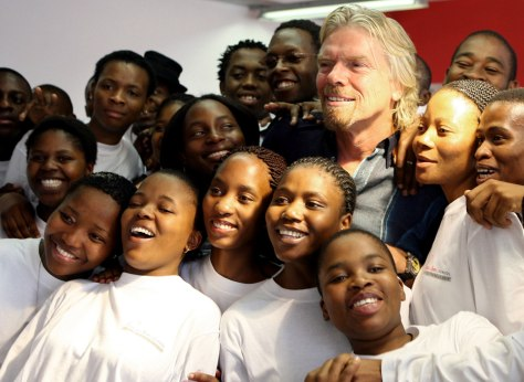 Image: Richard Branson, School of Entrepreneurship