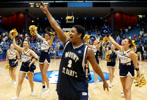 Image: Mount St. Mary's guard Chris Vann