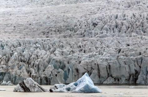 Image: Icelandic glacier of Vatnajokull