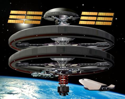 Image: Tessier-Ashpool Orbital Clinic