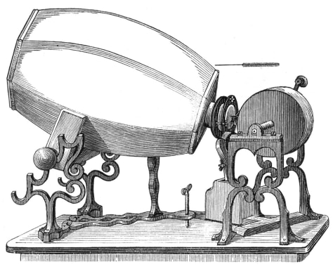 Image: Depiction of phonautograph