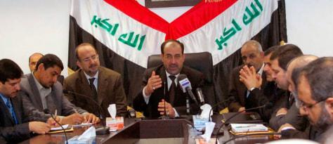 Image: Iraqi Prime Minister Nuri al-Maliki.