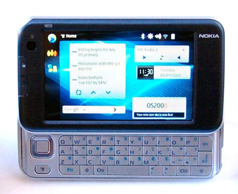 Image: Nokia N810 Internet tablet