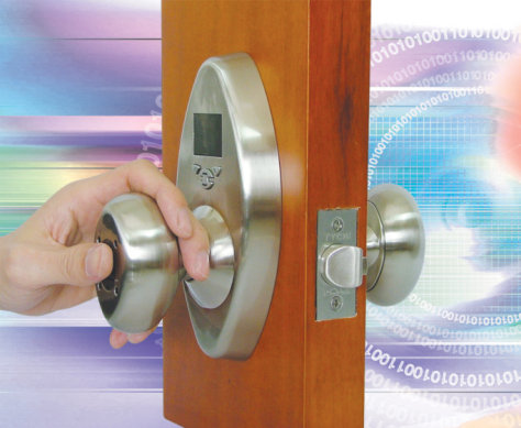 Image: BioKnob Fingerprint Door Knob Lock