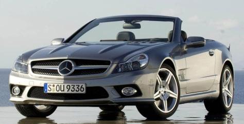 Image: Mercedes Benz SL class