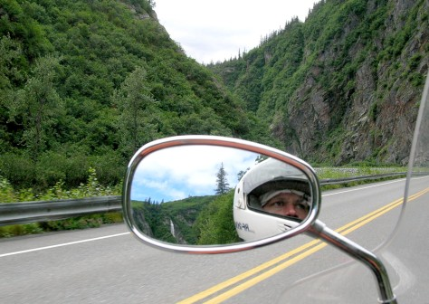 Image: Motorcycling to Alaska