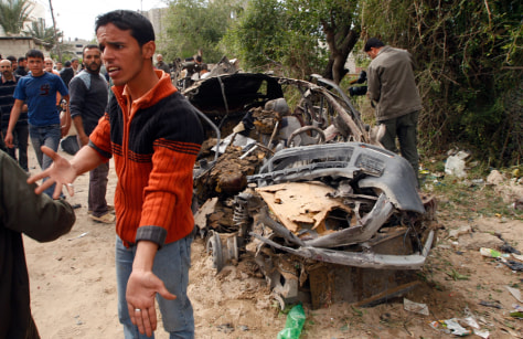 Image: A Palestinian man.