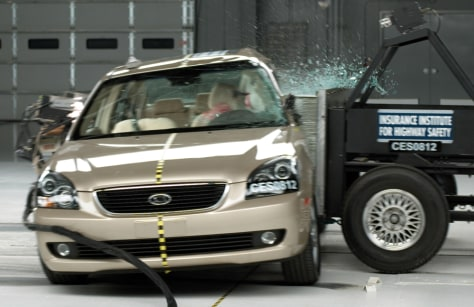 Image: Kia Optima crash test